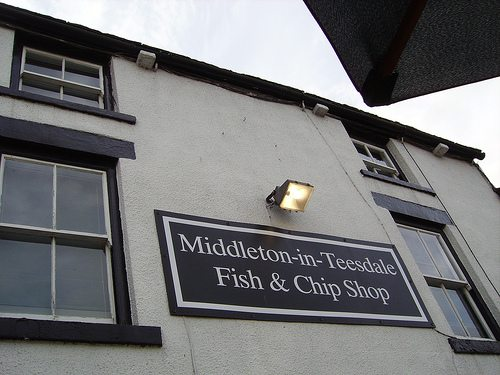 The chippy we stopped at