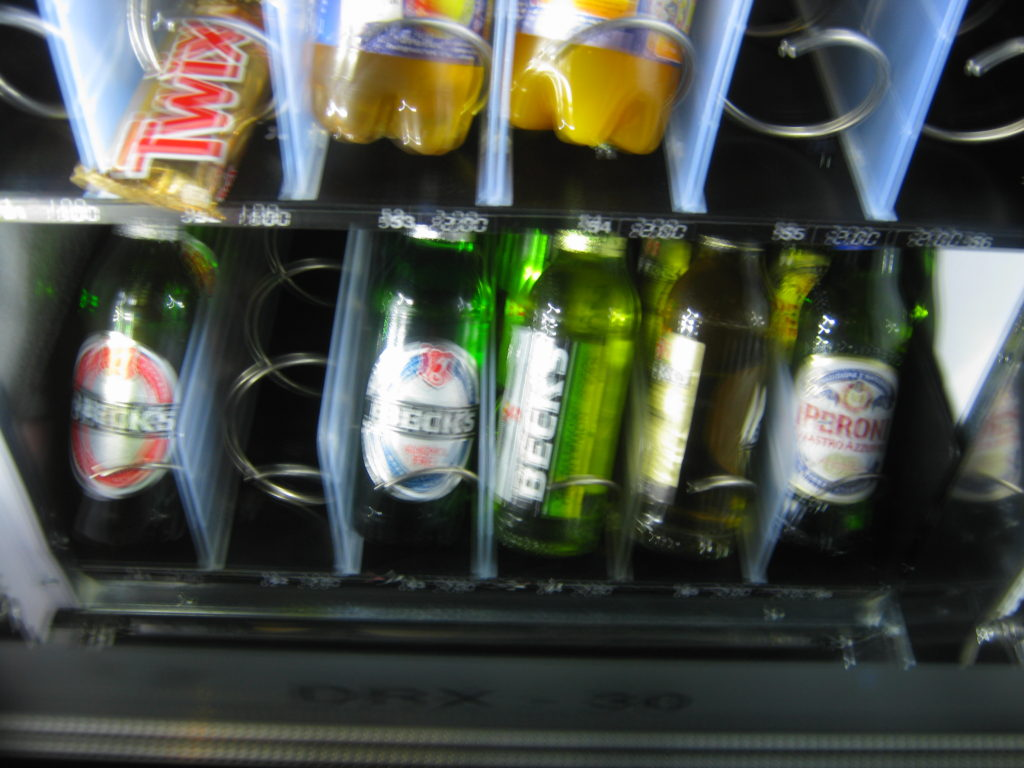 Vienna, Hotel vending machine