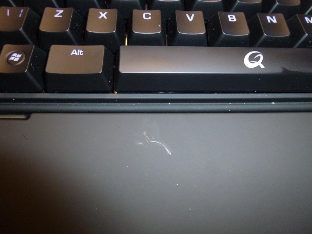 It's a mucky keyboard!